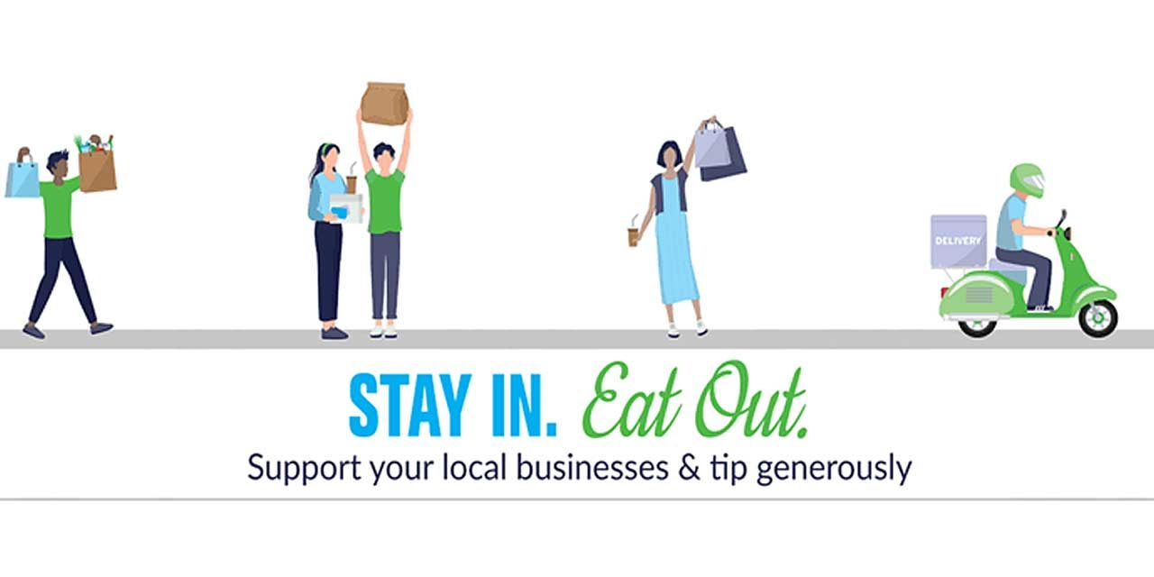 PleaseEAT LOCAL in SeaTac to help local businesses…Stay In, Eat Out!