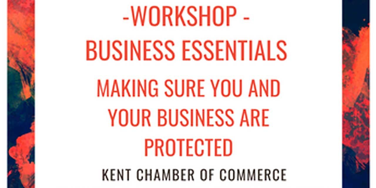 'Making Sure You and Your Business are Protected' webinar will be Tues., May 19