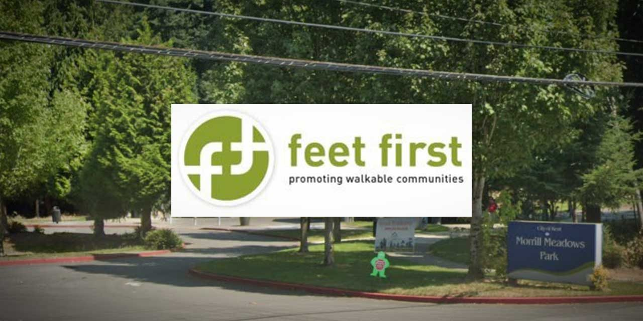 The next 'Feet First Walk' will be Wednesday, July 1 at Morrill Meadows Park