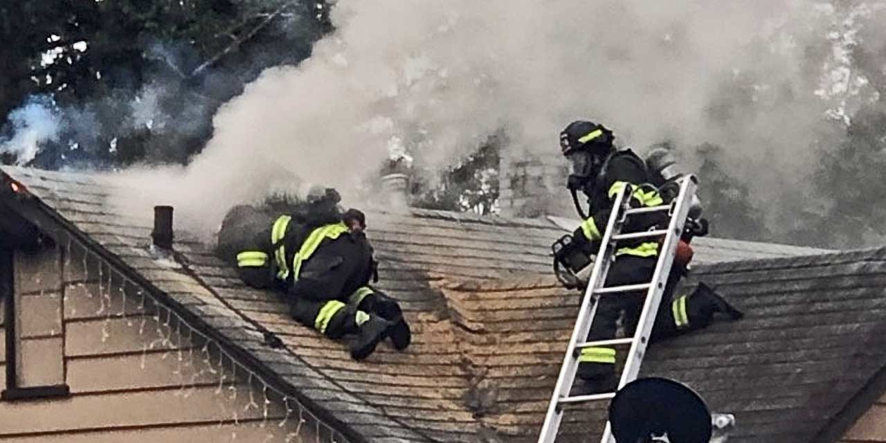 House fire in Kent sends one to hospital Wednesday morning