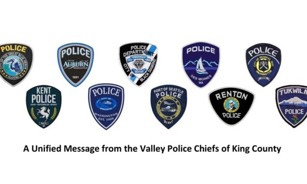 Chief Padilla part of Unified Message from Valley Police Chiefs of King County