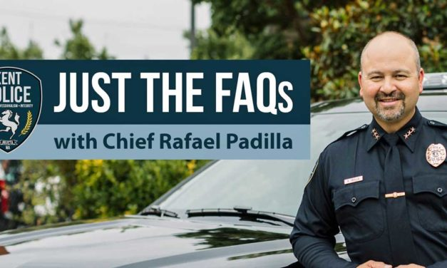 Kent Police Department launches new 'Just the FAQs with Chief Padilla' answer service