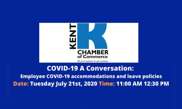 Kent Chamber Webinar 'COVID-19: A Conversation with Washington Retail Association' is Tuesday