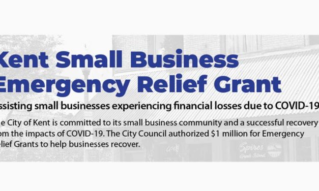 Deadline to apply for Kent's Small Business Emergency Relief Grant program is Mon., July 27