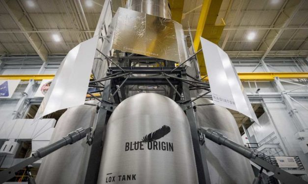 Blue Origin-led team  delivers  Lunar Lander mockup to  NASA