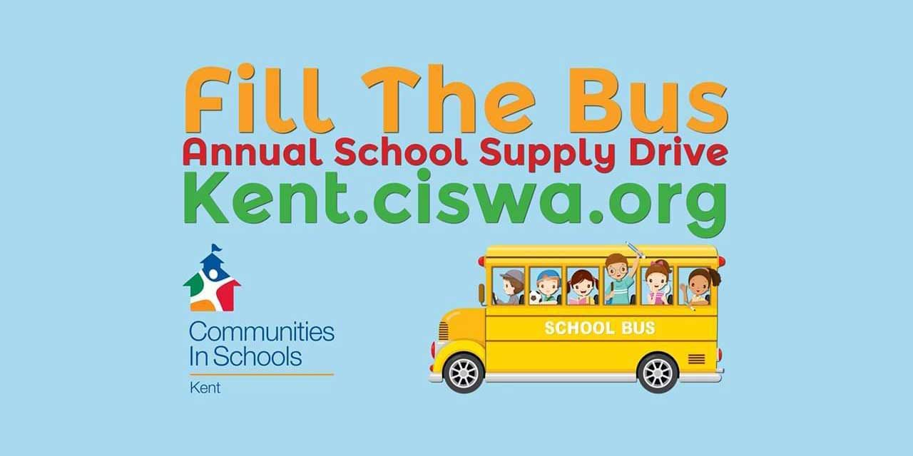 'Fill the Bus' annual School Supply Drive will be Thursday, Aug. 20