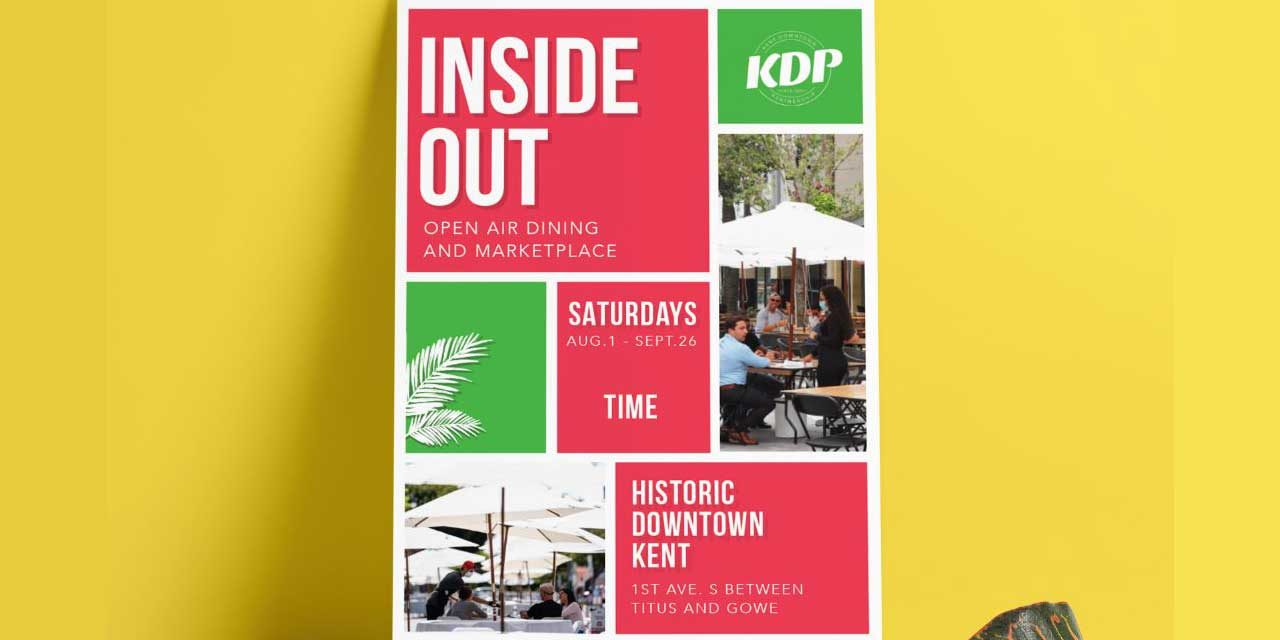 '1st Ave Inside OUT' Open Air Dining & Marketplace continues in Kent this Saturday
