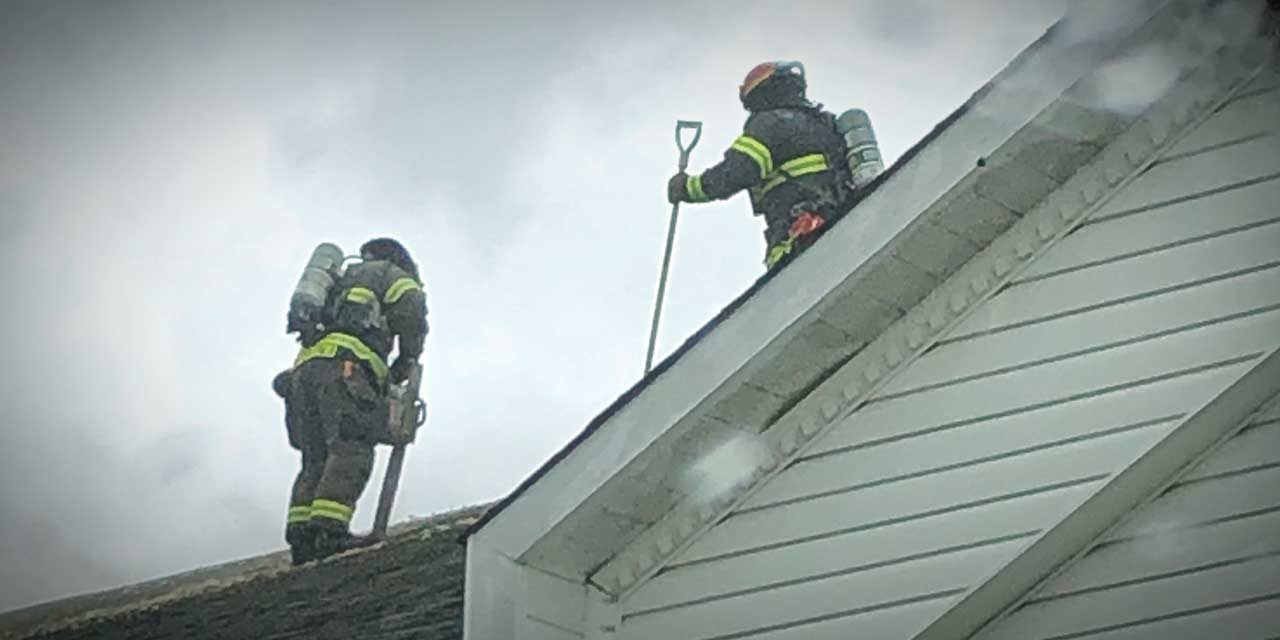 Attic fire displaces one adult in Kent Friday; Red Cross assisting