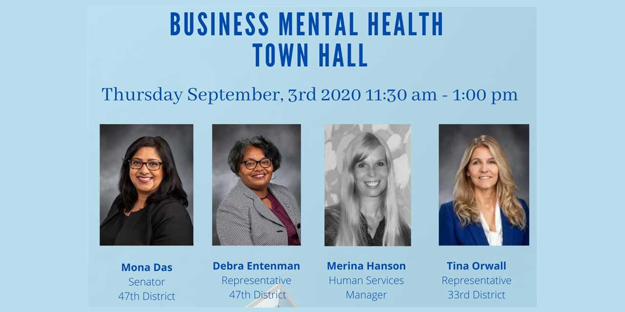 Kent Chamber's 'Business Mental Health Town Hall' will be Thursday, Sept. 3