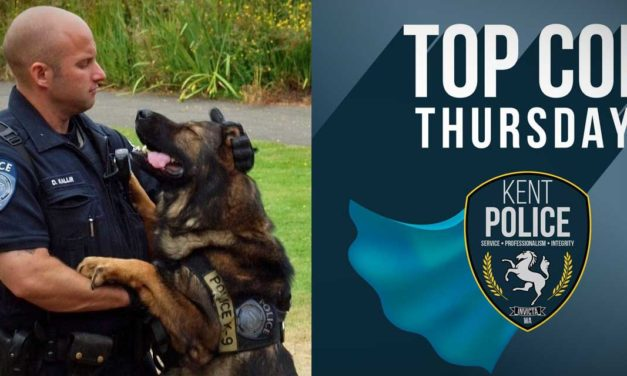 Kent Police Officers – including K9 Kane – locate and arrest wanted suspect