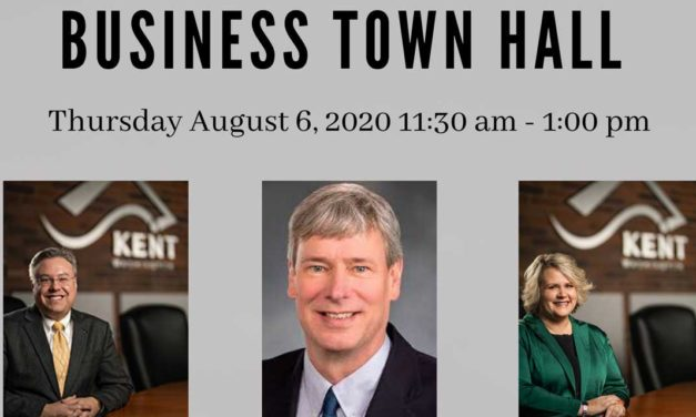 Kent Chamber holding Business Town Hall this Thursday, Aug. 6