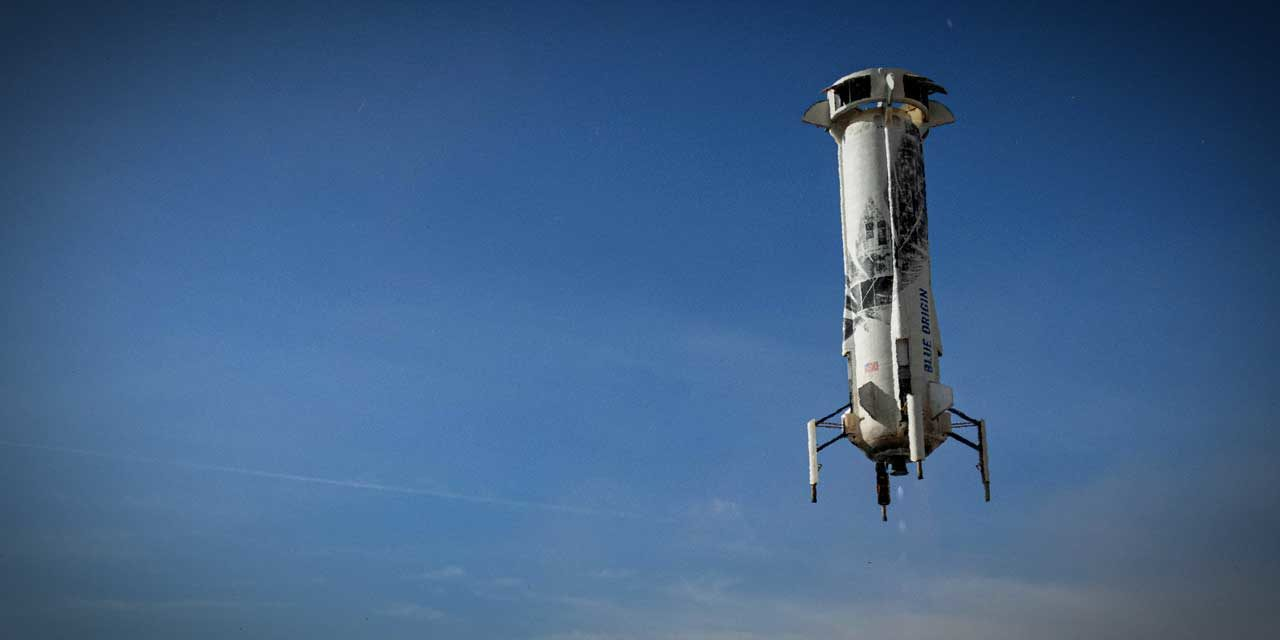 Blue Origin's next launch is scheduled for this Thursday