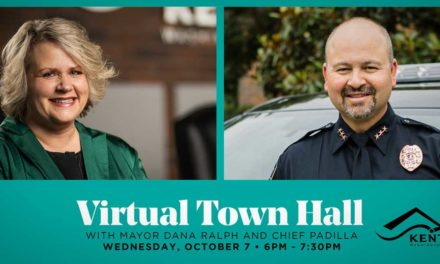 Virtual Town Hall with Mayor Ralph & Chief Padilla will be Wednesday, Oct. 7