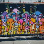 Public art murals slashed at Sound Transit light rail construction site