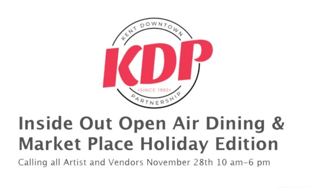 KDP seeking Artists & Vendors for Inside OUT – Open Air Dining & Marketplace Holiday Edition