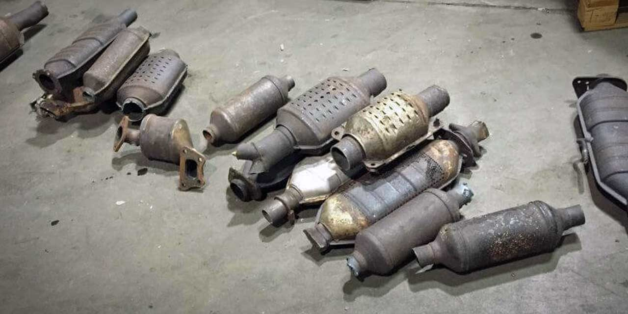 Kent Police warn residents about recent catalytic converter thefts