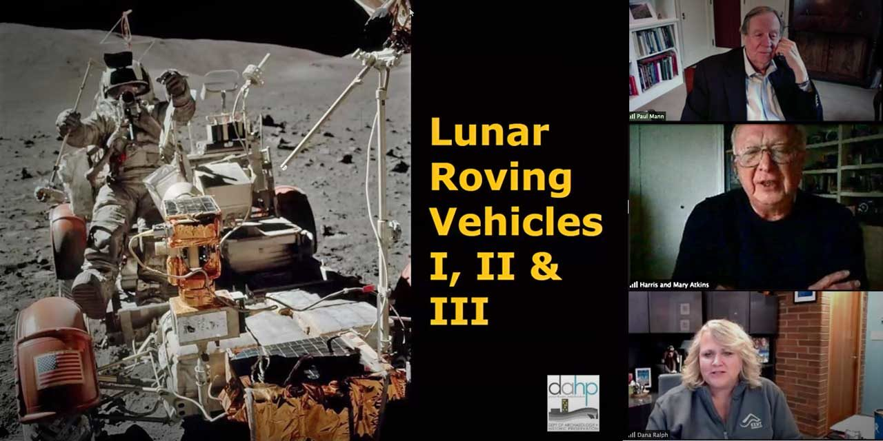 Even though they're parked on the moon, Kent-built Apollo Lunar Rovers are now Historic State Landmarks