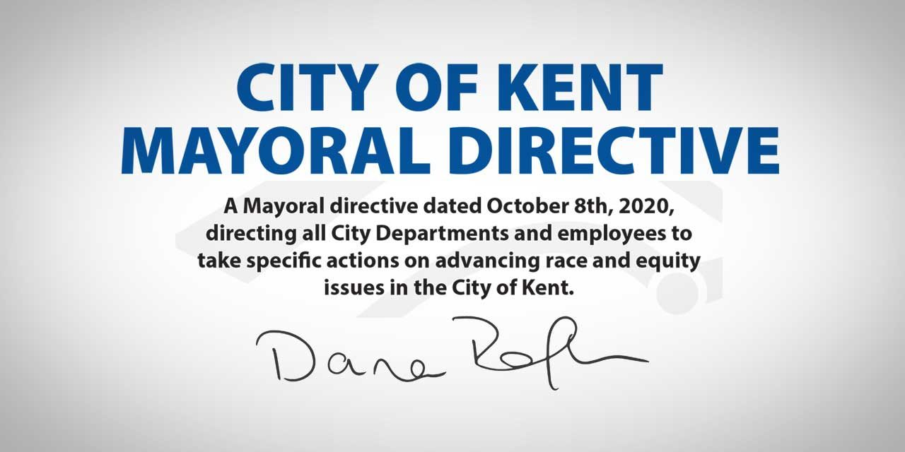Kent Mayor Dana Ralph issues Mayoral Directive on race and equity