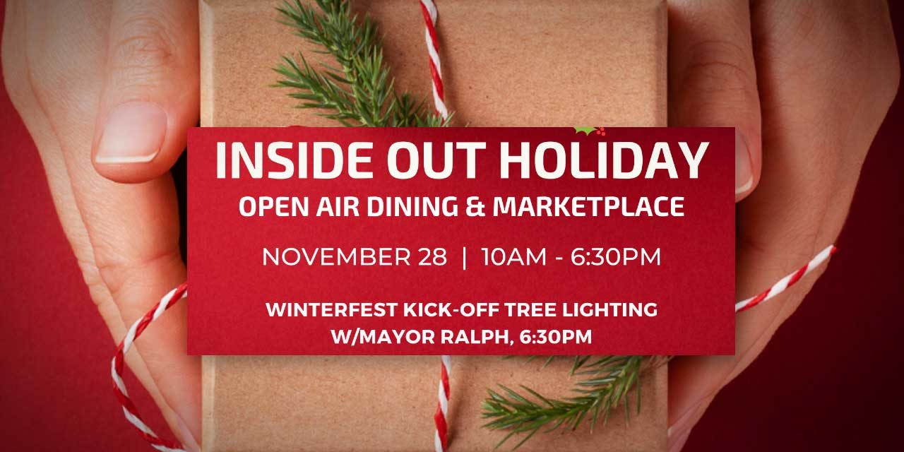 SAVE THE DATE: KDP's Inside OUT Holiday, Tree Lighting will be Saturday, Nov. 28