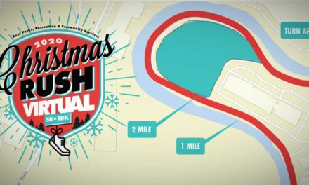 Kent's Christmas Rush Fun Run and Walk will be virtual this year, from Dec. 12–19