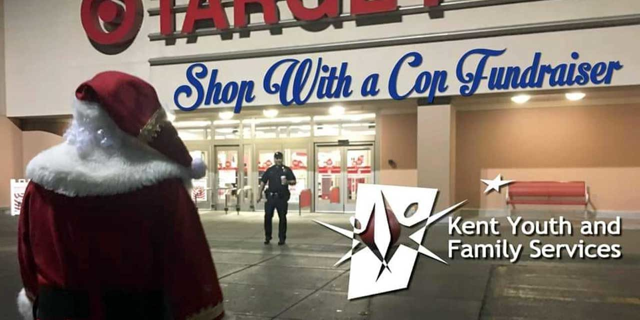 Kent's 'Shop with a Cop' fundraiser has begun, and here's how YOU can help