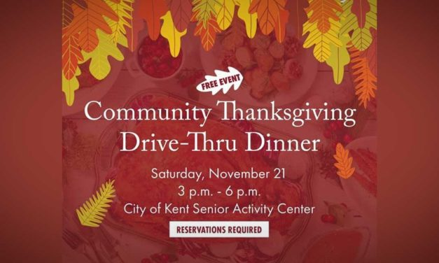 Community Thanksgiving Dinner will be a drive-thru on Saturday, Nov. 21