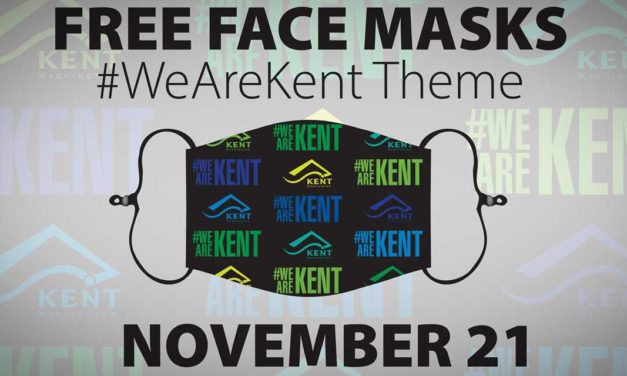 REMINDER: City distributing FREE #WeAreKent Face Masks this Saturday