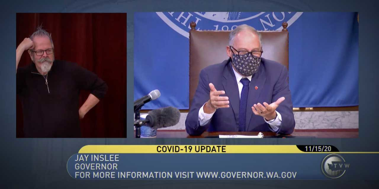 Gov. Inslee announces new restrictions relating to COVID-19 pandemic surge