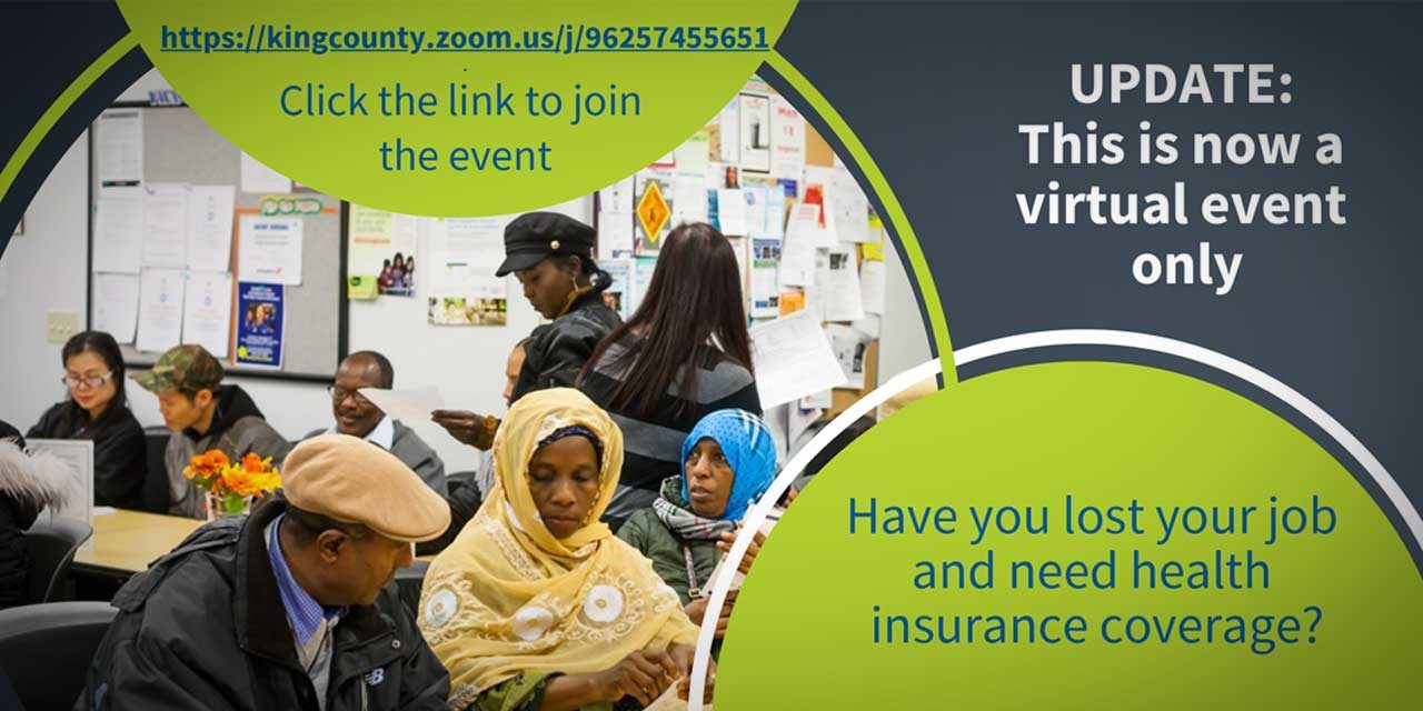 UPDATE: Thursday's Health Insurance Enrollment Fair will now be VIRTUAL