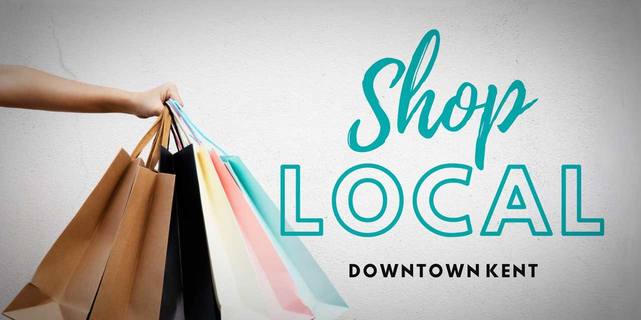 Save Big when you Shop Small in Downtown Kent – get a FREE 'Shop Local' Card from the KDP