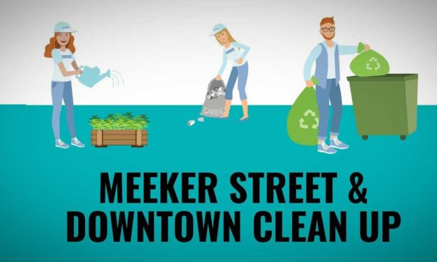 Volunteers needed for Meeker Street & Downtown Clean Up on Saturday, Feb. 6