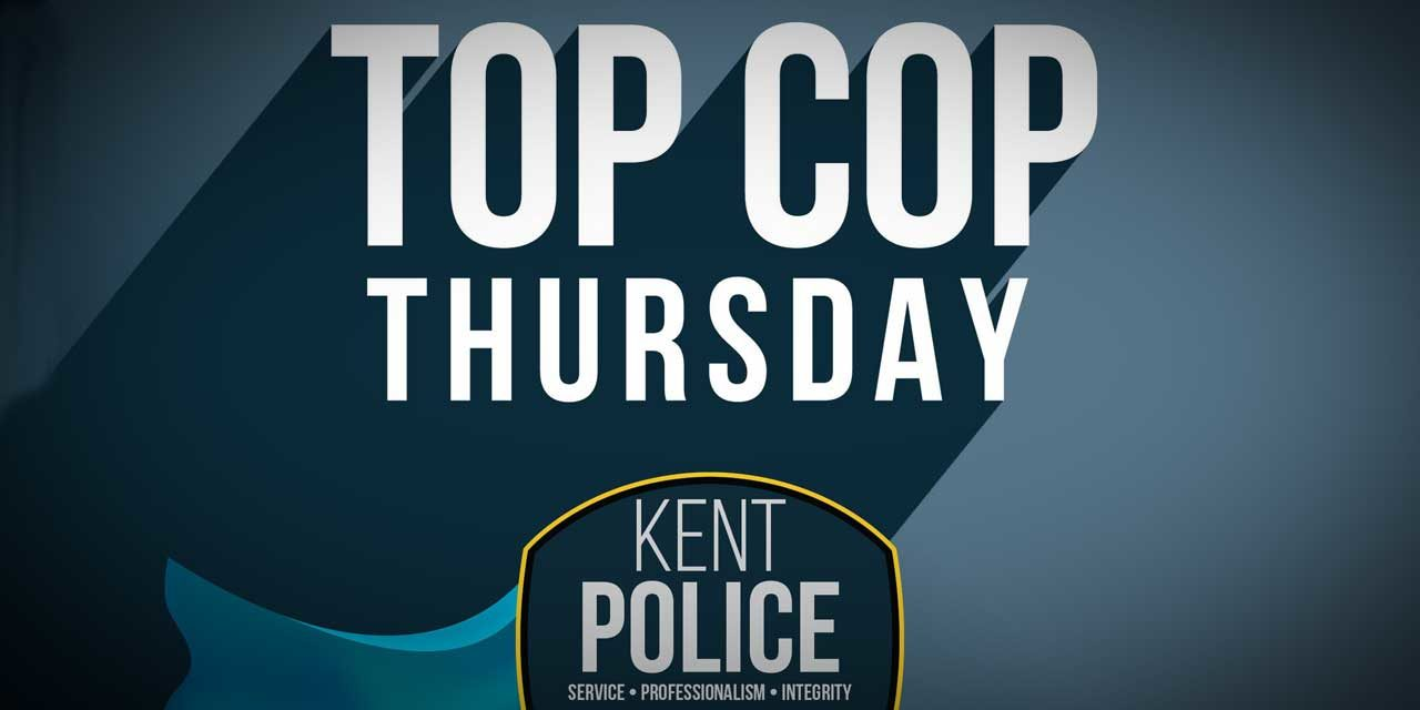 Kent Police Officers honored for saving suicidal and assaultive teen