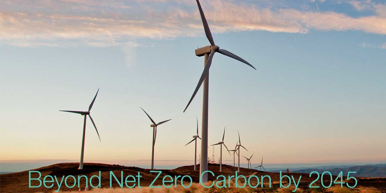 Puget Sound Energy aims to be a 'Beyond Net Zero Carbon' goal by 2045