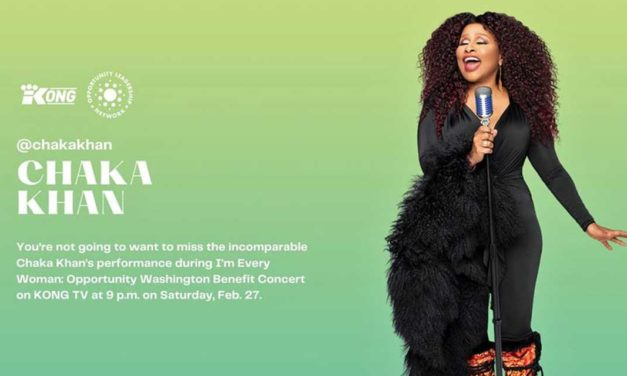 Chaka Khan will perform in 'I'm Every Womxn: Opportunity Washington' concert this Saturday
