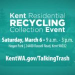 Free Recycling Event will be at Hogan Park on Saturday, Mar. 6