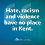 'Hate, racism and violence have no place in Kent' – Mayor Ralph responds to increase in violence towards Asian Americans