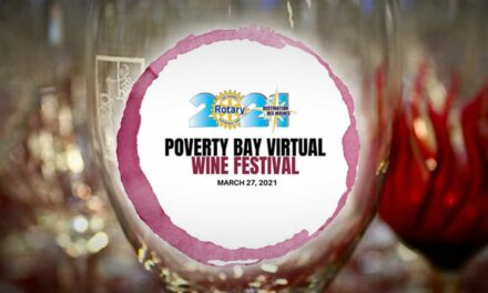 REMINDER: The virtual Poverty Bay Wine Festival will be streamed live this Saturday