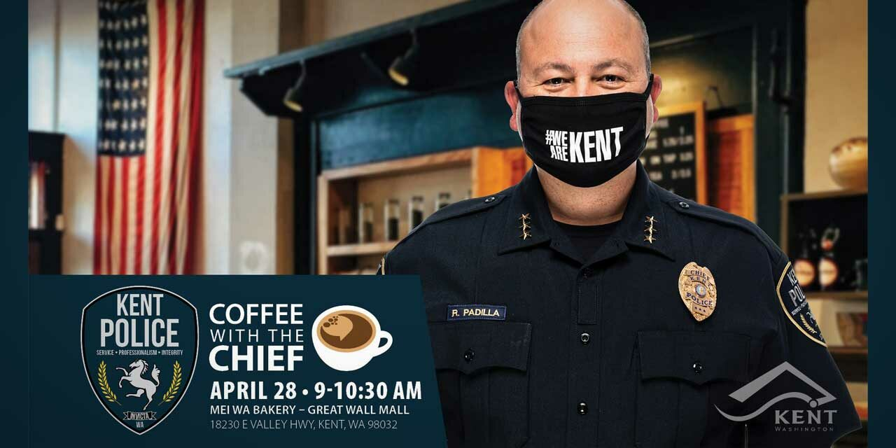 Have 'Coffee with the Chief' at Great Wall Mall on Wed., April 28