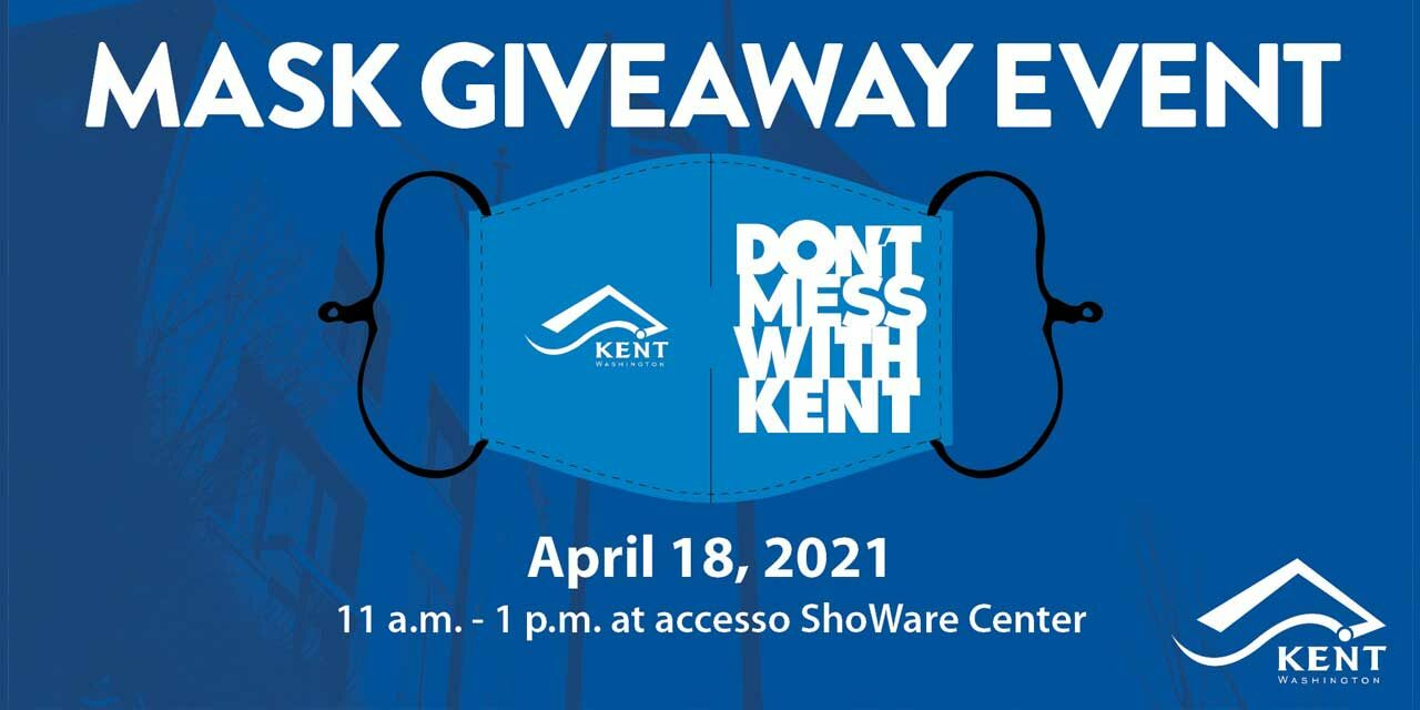 Get your free 'Don't Mess With Kent' Face Mask at ShoWare Center on Sun., April 18