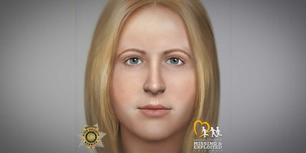 Composite profile developed to help identify Green River Killer victim 'Jane Doe B17'