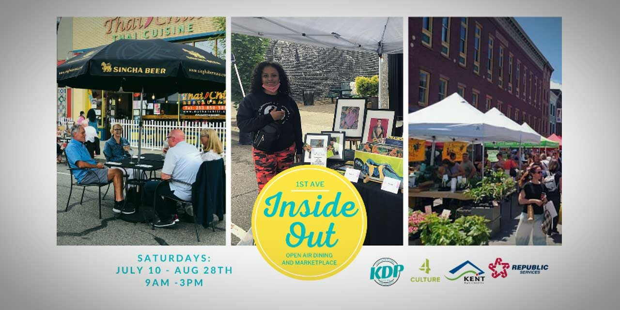Inside OUT – Open Air Dining & Marketplace will be Saturdays from July 10 – Aug. 28