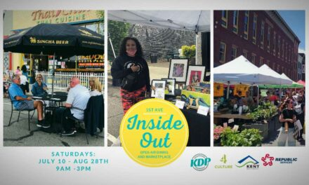 REMINDER: Inside OUT Outdoor Marketplacestarts this Saturday, July 10
