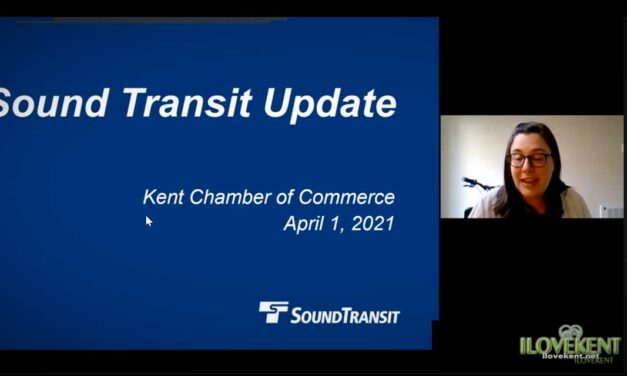 VIDEO: Watch Sound Transit's update at Kent Chamber luncheon