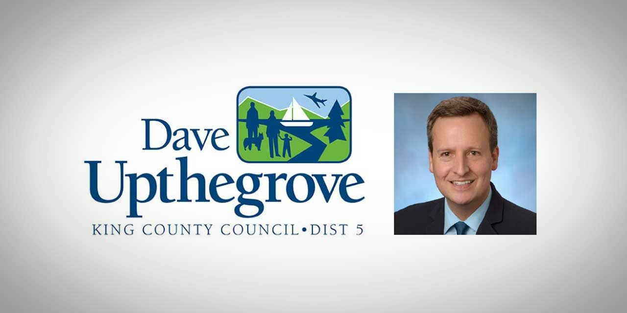 King County Councilmember Dave Upthegrove: COVID-19 Vaccinations