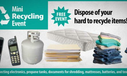 Mini-Recycling Event will be Friday, May 14 at Kent United Methodist Church