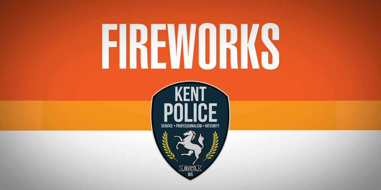 Kent Police want to remind everyone that fireworks are illegal in the City of Kent