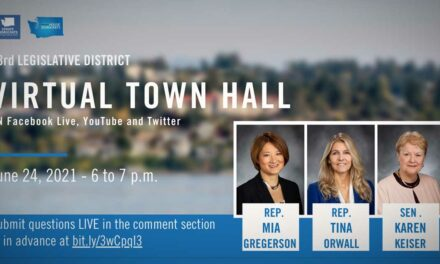 33rd Legislative District lawmakers holding Town Hall on Thursday, June 24
