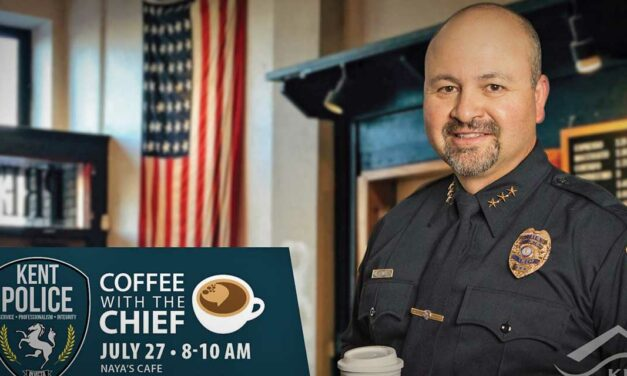 Have 'Coffee with the Chief' at Naya's Cafe on Tuesday, July 27