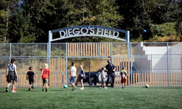 Futsal court at West Fenwick Park dedicated to late Kent Police Officer Diego Moreno