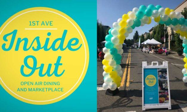 Kent Downtown Partnership's Inside OUT opening day a success – more to come this Saturday!